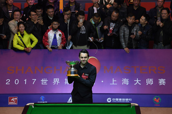 Shanghai Masters Snooker